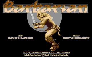 Screenshot of Barbarian