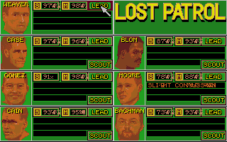 Screenshot of Lost Patrol