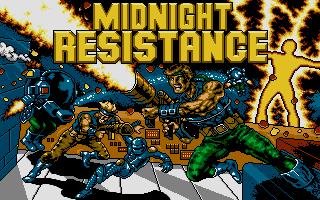 Screenshot of Midnight Resistance