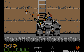 This guy isn' t an end of level boss, but he' s still tougher than the average enemy.