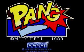 Screenshot of Pang