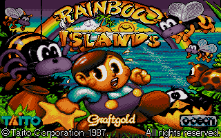 Screenshot of Rainbow Islands