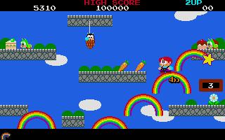 Screenshot of Rainbow Islands