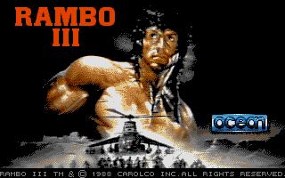 Screenshot of Rambo III