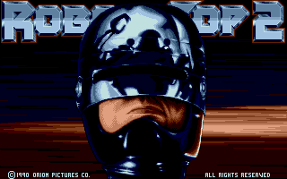 Screenshot of Robocop 2