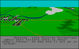 Screenshot of Austerlitz