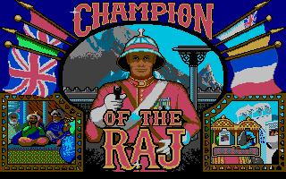 Screenshot of Champion of the Raj