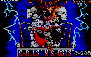Screenshot of Ghouls & Ghosts