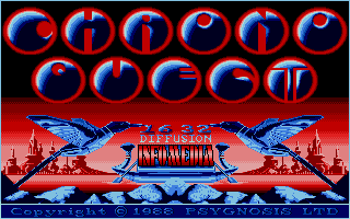 Screenshot of Chrono Quest