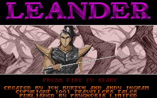 Screenshot of Leander
