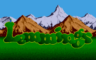 Screenshot of Lemmings