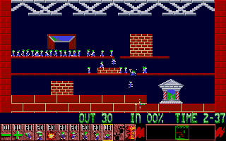 Thumbnail of other screenshot of Oh No! More Lemmings