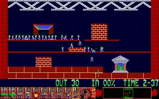 Screenshot of Oh No! More Lemmings