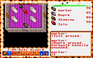 Screenshot of Ultima VI - The False Prophet