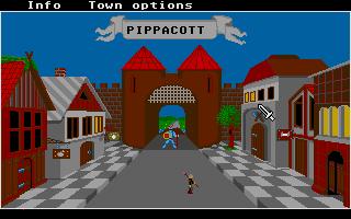 Screenshot of Phantasie 2