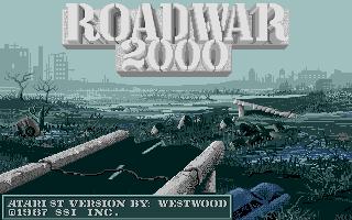 Thumbnail of other screenshot of Roadwar 2000