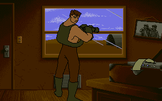 Screenshot of Guy Spy and the Crystals of Armageddon