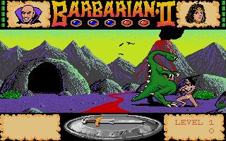 Screenshot of Barbarian II - The Dungeon of Drax