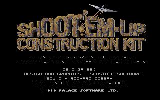Thumbnail of other screenshot of Shoot'em-Up Construction Kit