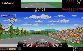 Screenshot of Super Monaco Grand Prix