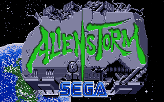 Screenshot of Alien Storm