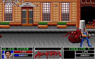 Screenshot of Alien Storm