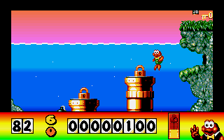 Screenshot of James Pond