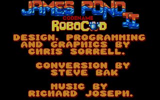 Thumbnail of other screenshot of James Pond 2 - Codename Robocod