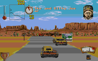 Screenshot of Moonshine Racers