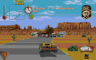 Screenshot of Moonshine Racers