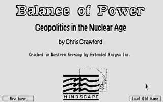 Screenshot of Balance of Power