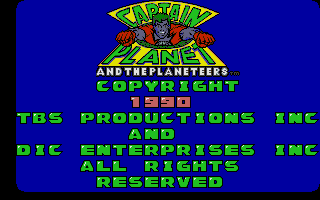 Screenshot of Captain Planet and the Planeteers