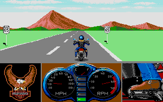 Thumbnail of other screenshot of Harley Davidson: The Road To Sturgis