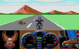 Screenshot of Harley Davidson: The Road To Sturgis