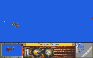 Screenshot of Ancient Art Of War In The Skies, The