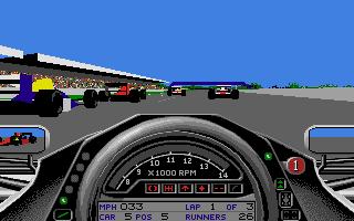 Screenshot of Formula One Grand Prix