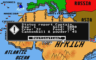 Thumbnail of other screenshot of Pirates of the Barbary Coast