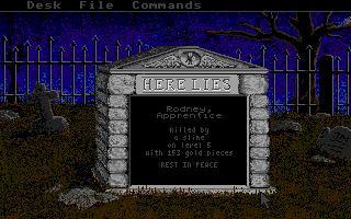Screenshot of Rogue