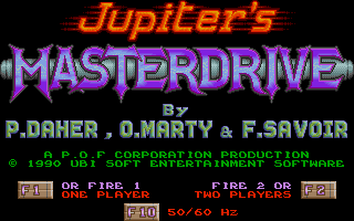 Screenshot of Jupiter's Masterdrive