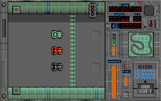Screenshot of Jupiter's Masterdrive