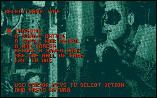 Screenshot of Silent Service II