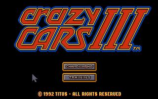 Screenshot of Crazy Cars 3