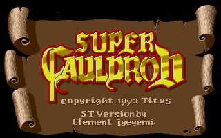 Screenshot of Super Cauldron