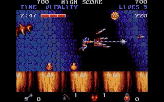 Screenshot of Black Tiger
