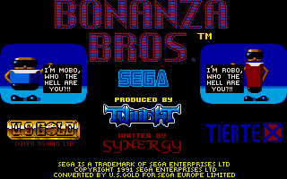Thumbnail of other screenshot of Bonanza Brothers