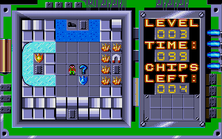 Screenshot of Chip's Challenge