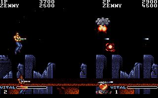 Screenshot of Forgotten Worlds