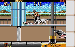 Screenshot of Shadow Dancer