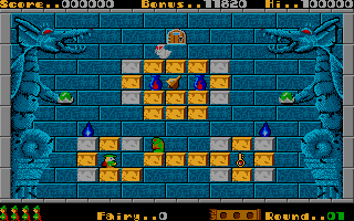 Screenshot of Solomon's Key