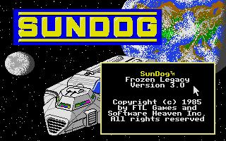 Screenshot of Sundog - Frozen Legacy